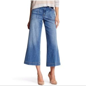 NWT LEVEL 99 Ginger Wide Leg Ankle Jean